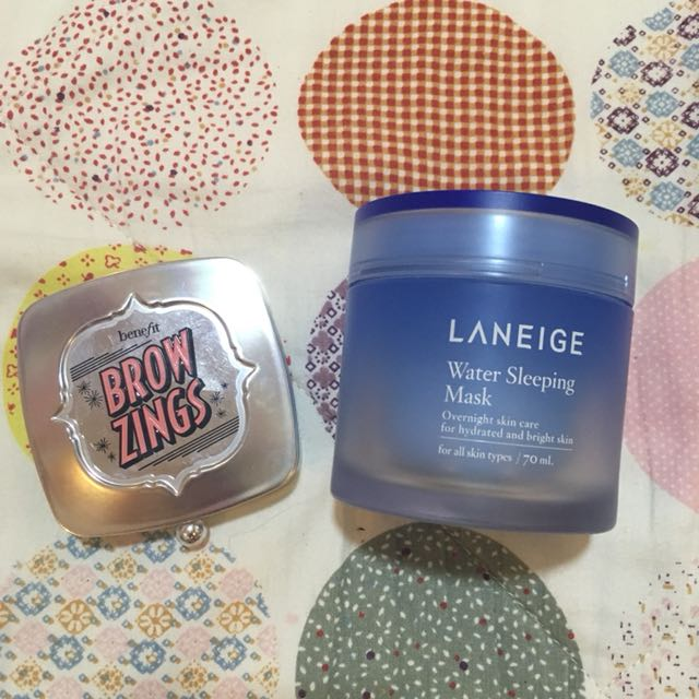 Benefit Brow Zings and Laneige
