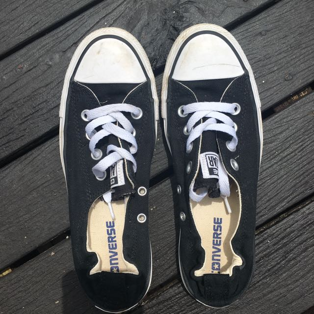 Black converse (US 7)