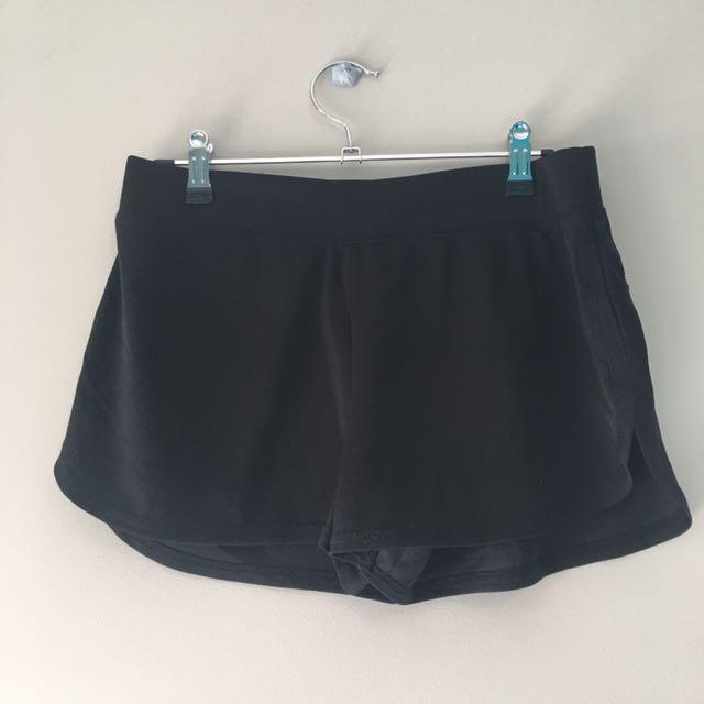 Black Kmart shorts (10)