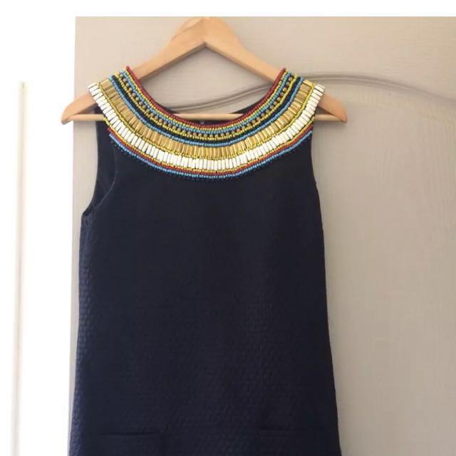 Black sass and bide dress size xs 6