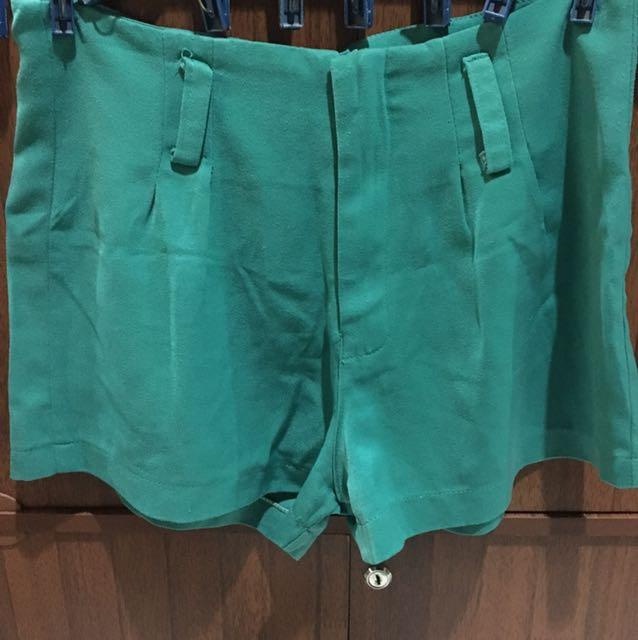 Blue Green Shorts