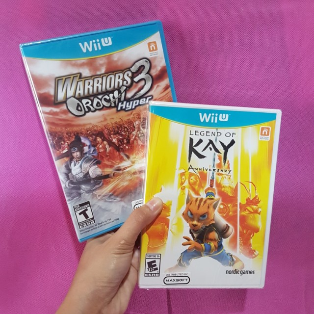 BN Wii U Legend of Kay + Warriors Orochi 3 Bundle