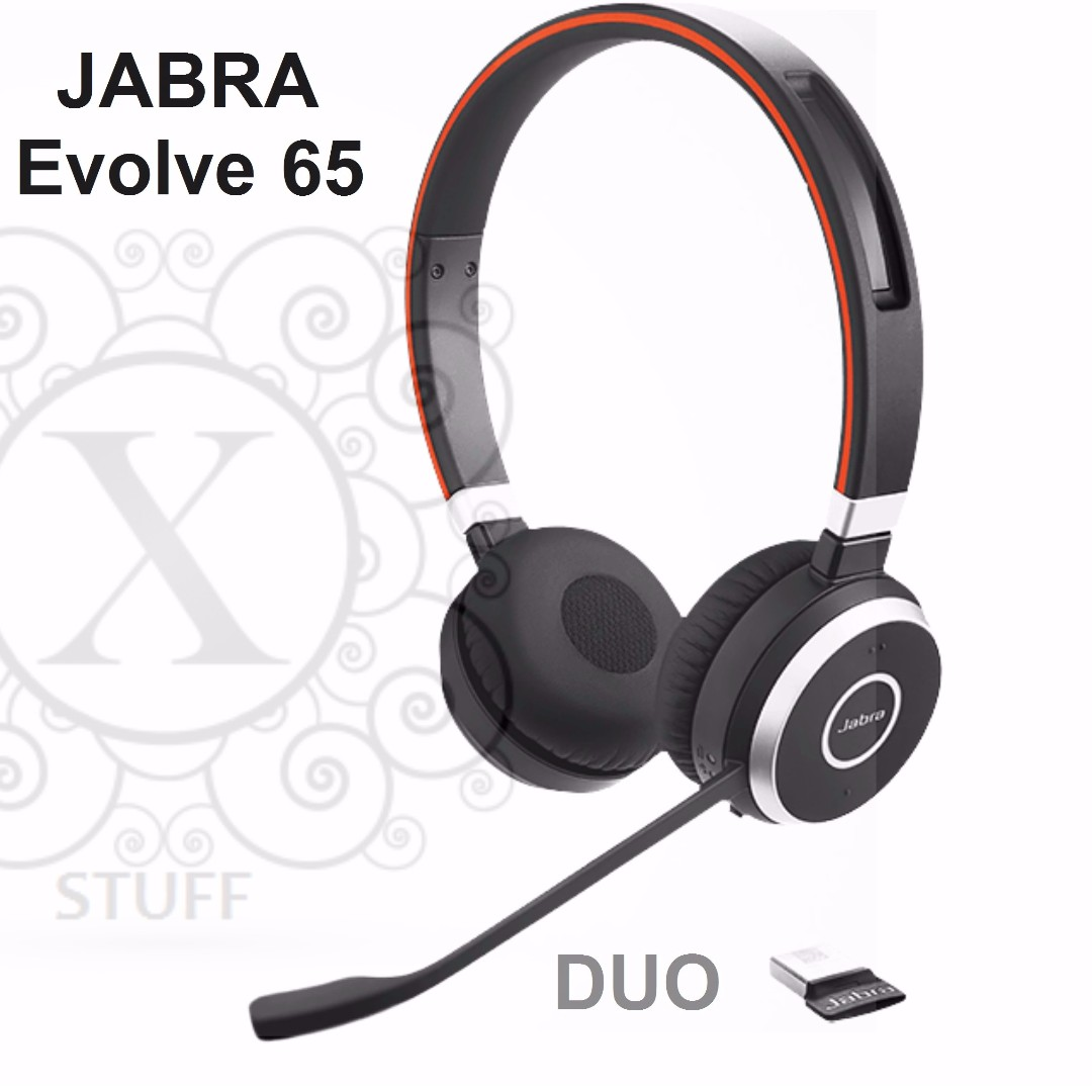 Bnew JABRA Headsets (EVOLVE Series- Evolve 65-DUO)