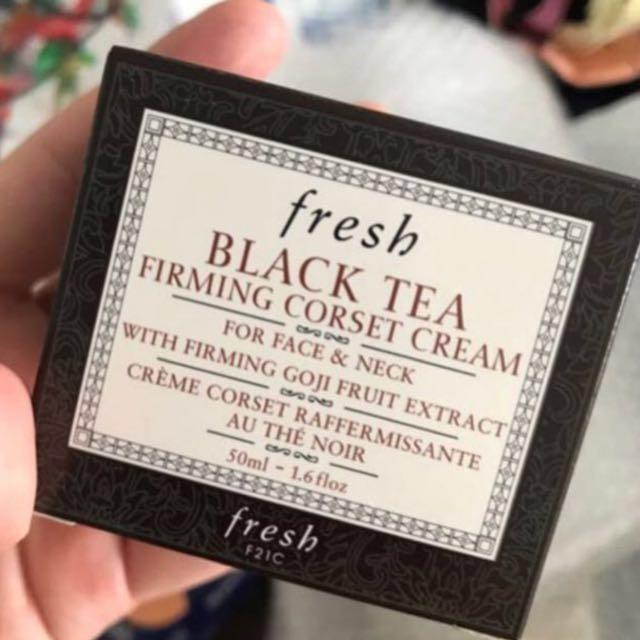 5fe3b81e15 BNIB fresh Black Tea Firming Corset Cream