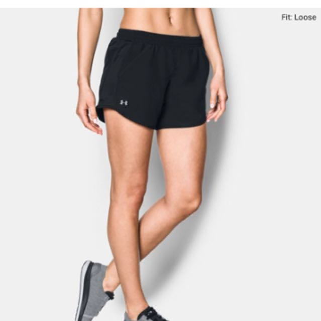 BNWT Under Armour Fly by shorts