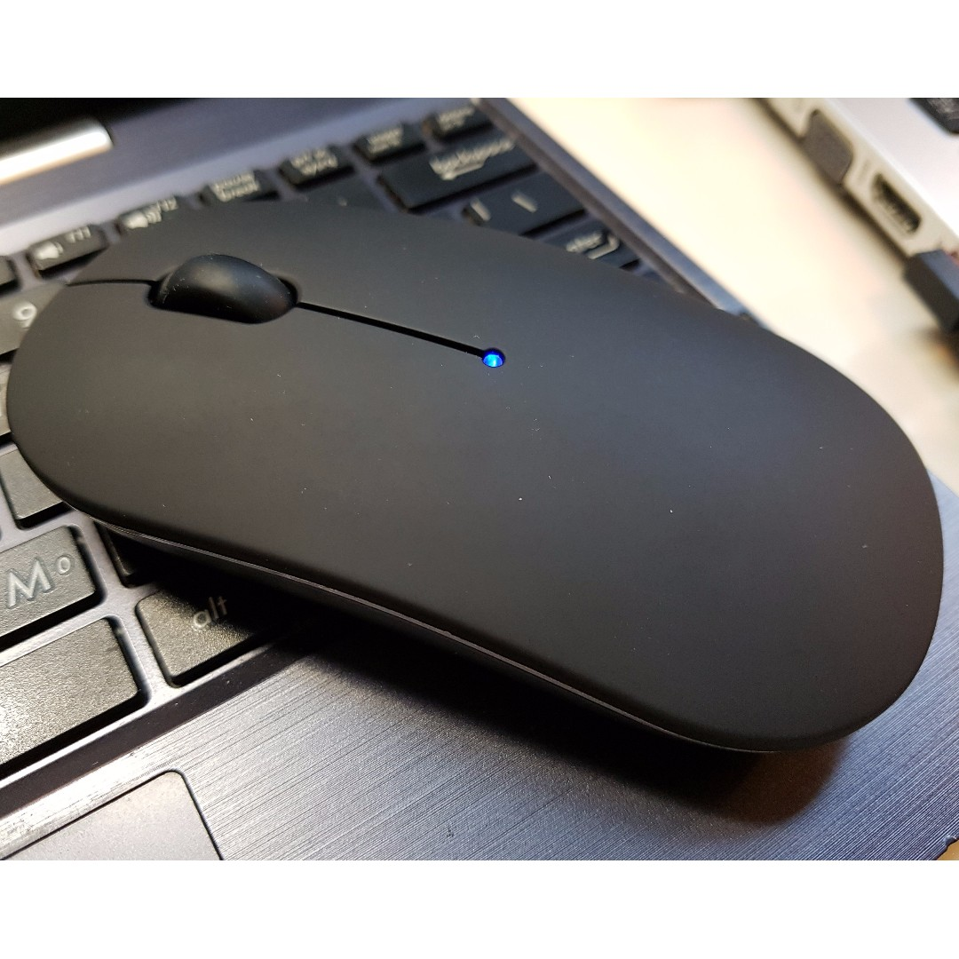 Borderless Ryoko Multi Device Dual Mode Mouse Wireless 24g Bluetooth Electronics Computer Parts Accessories On Carousell