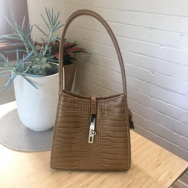 Brand new Vera May purse handbag tan