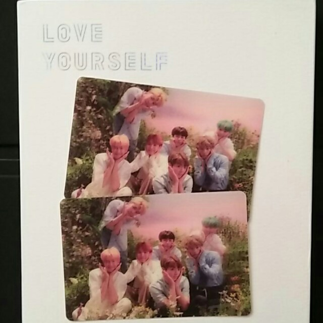 [FAST BID]BTS LOVE YOURSELF HER RARE PC
