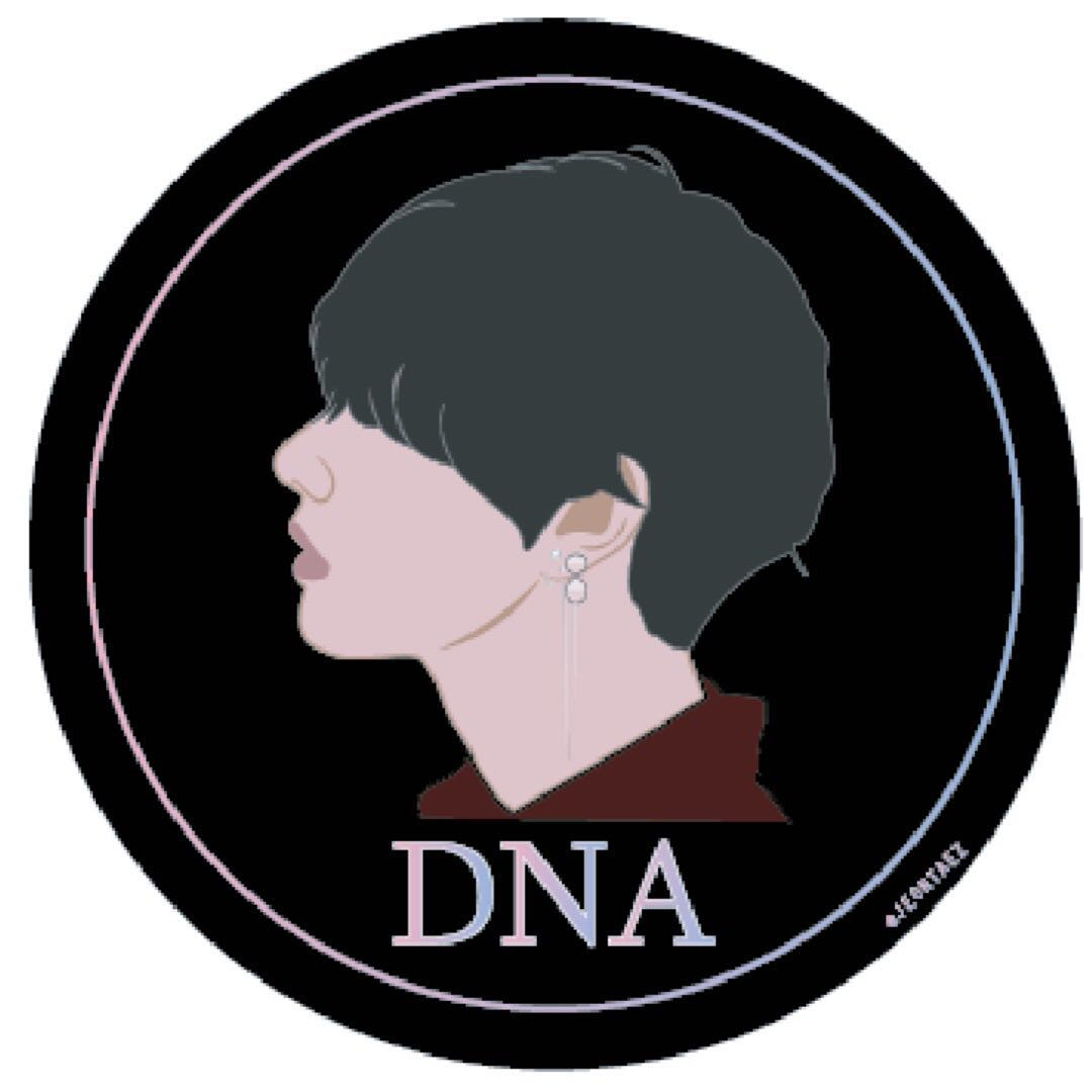 Bts stickers dna version entertainment k wave di carousell