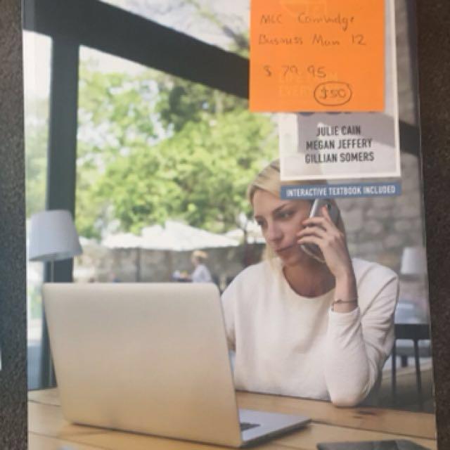 Business Management textbook