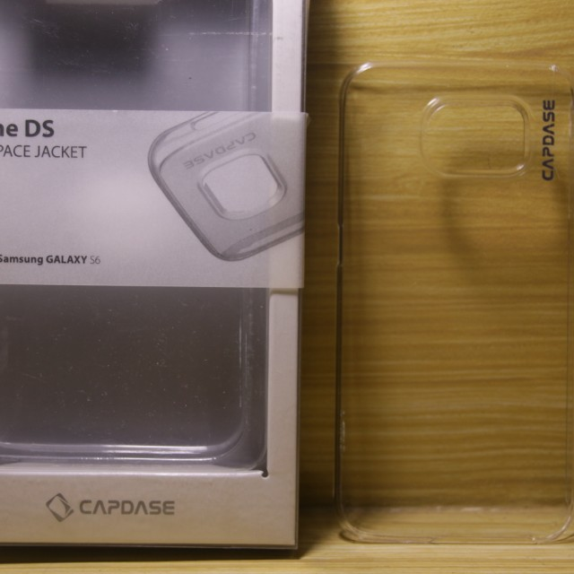 CAPDASE clear case Samsung s6