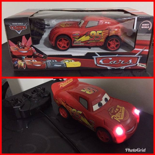 CARS Mcqueen Robot Transform