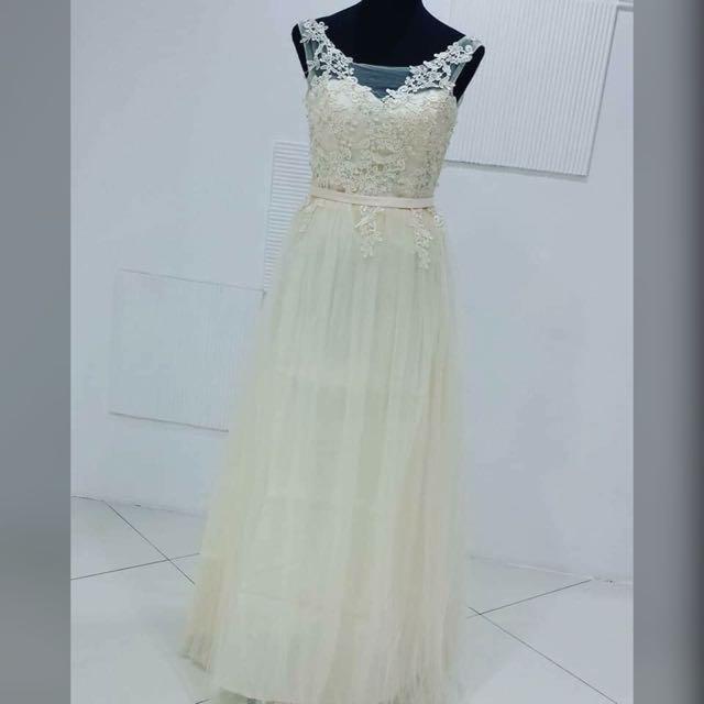 Champange Gown