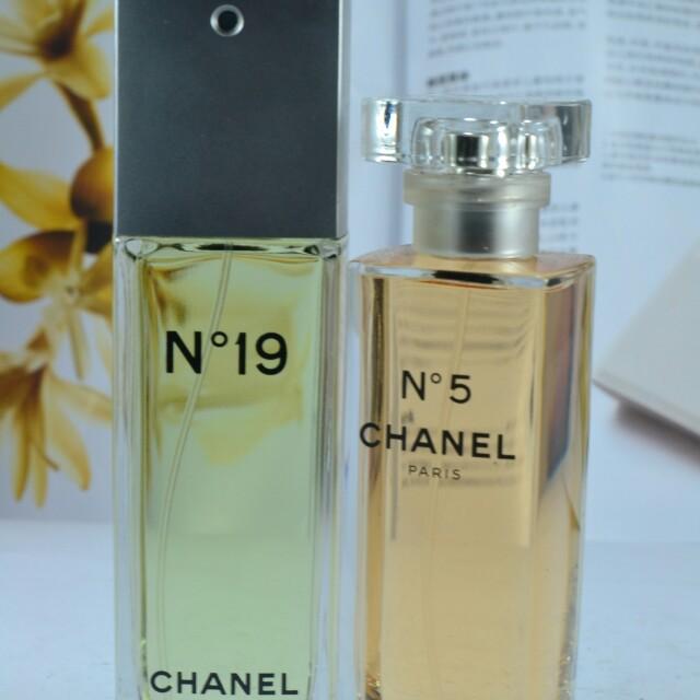 Chanel no 19 Chanel no 5