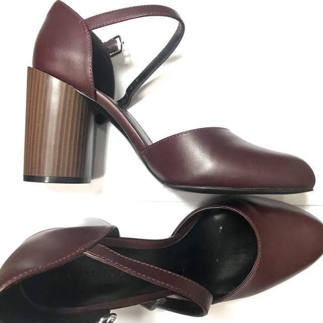 Charles & Keith Stiletto Mary Jane Shoes