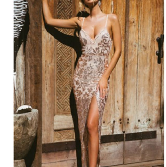 Chiffon boutique ball dress