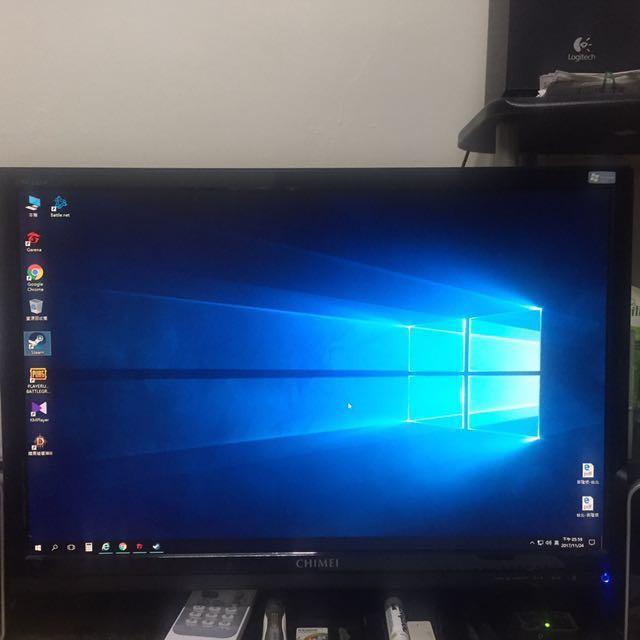 奇美CHIMEI 22吋16:9螢幕 CMV-228A 9成新