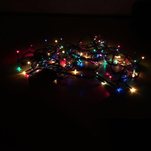 pretty nice a8439 bd3f7 Christmas lights-Rainbow LEDs, Electronics, Others on Carousell