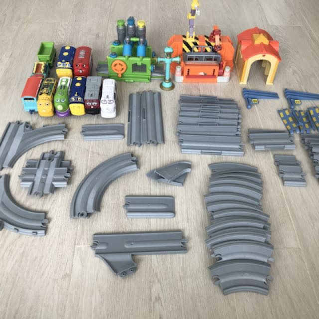 photo photo photo photo & Chuggington Train set Toys u0026 Games Bricks u0026 Figurines on Carousell