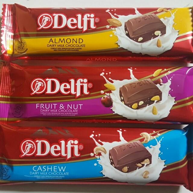 Coklat delfi 3pcs 30rb