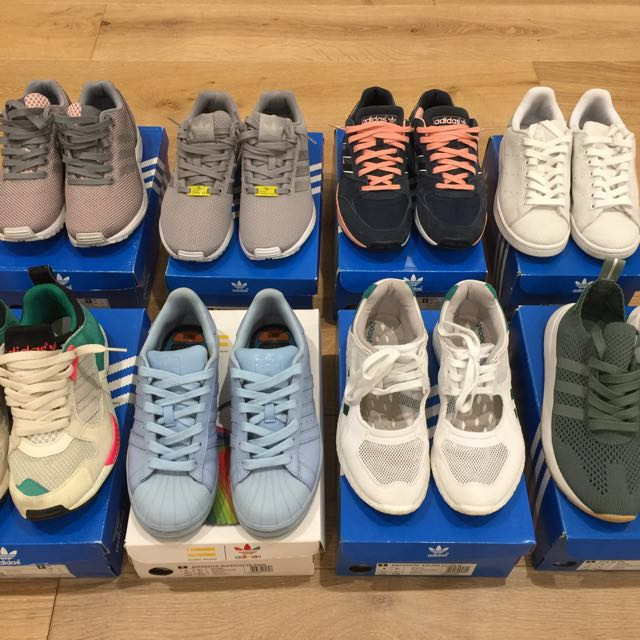 Collection of adidas sneakers