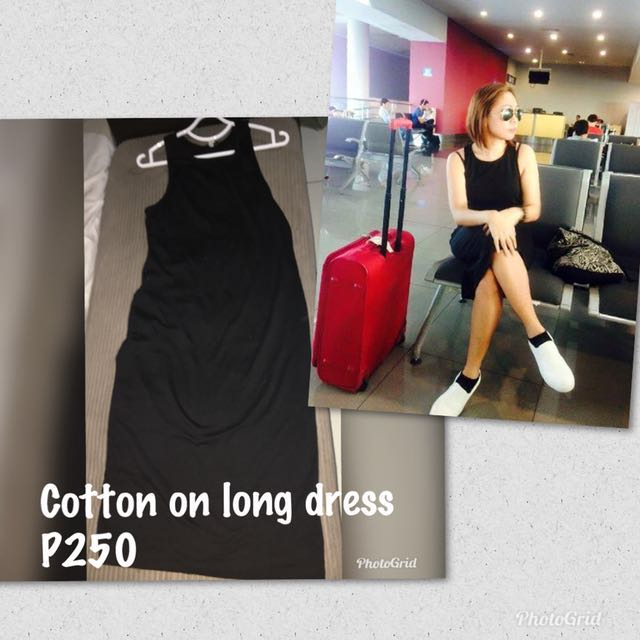 Cotton on Black long dress