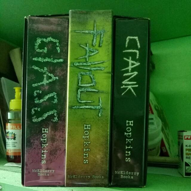 Crank Trilogy by Ellen Hopkins