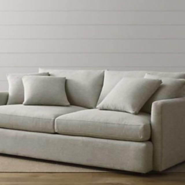 Crate And Barrel Sofa Lounge Ii 83 Furniture Sofas On Carousell