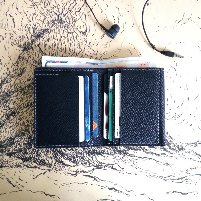 Customize Leather Simple Wallet