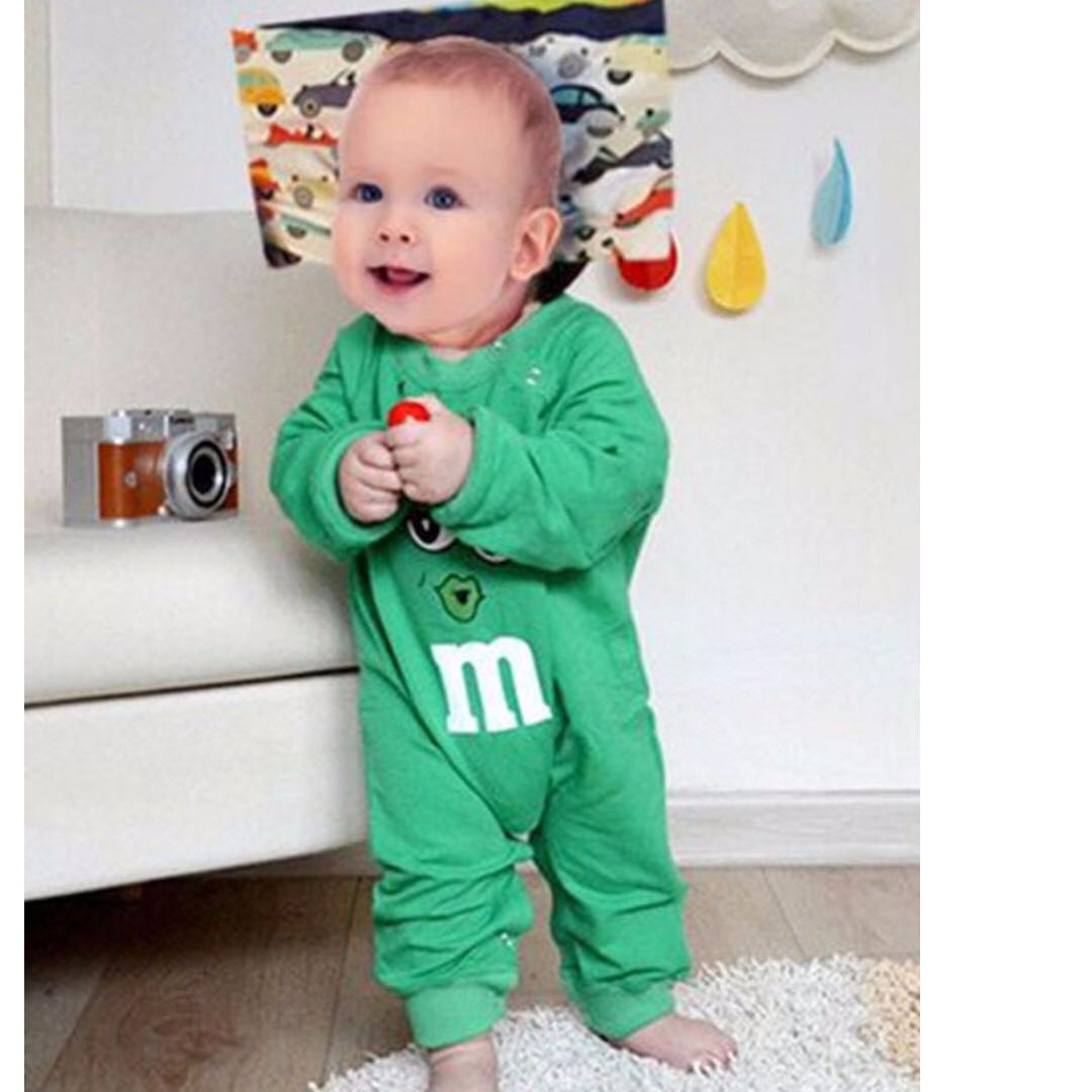 2b71ad6e3 Cute Baby Romper Unisex Boy girl clothes overalls sleep wear