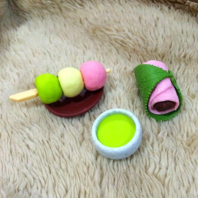 Cute Food Eraser