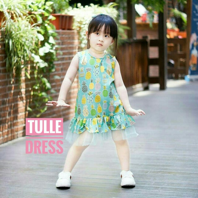 Dress Anak | TULLE DRESS