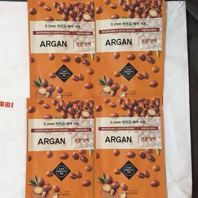 Etude House Therapy Air Argan Mask