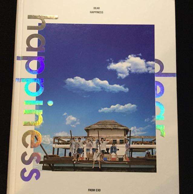 EXO DEAR HAPPINESS PHOTO BOOK