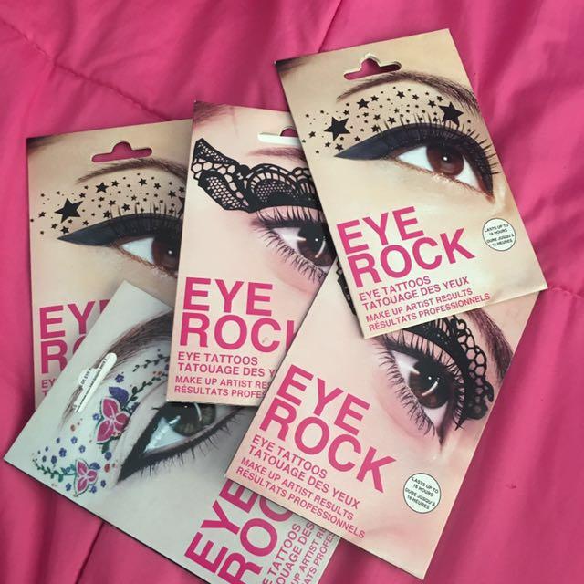 Eye Rock Eye Tattoos!