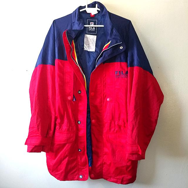 Sale! Fila Vintage Long Jacket