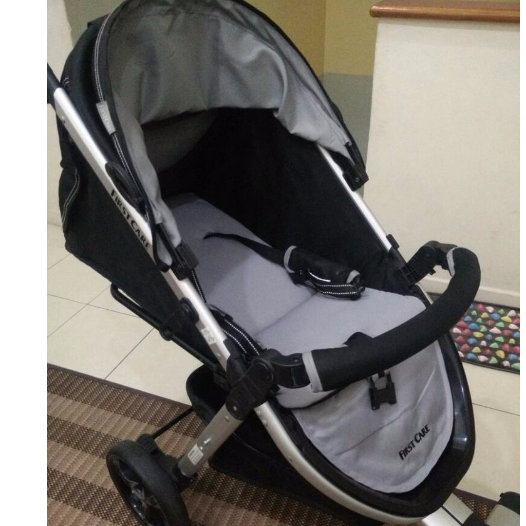 4ce7ff1b33d First Care (Black   Grey) Stroller