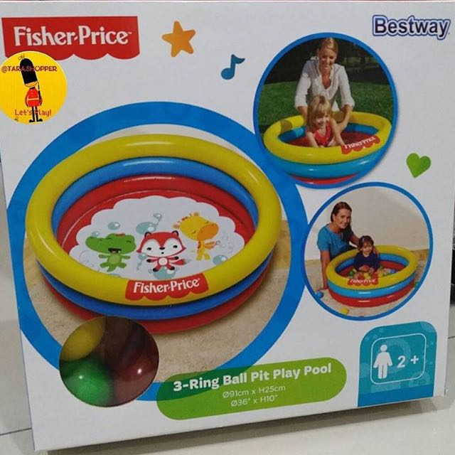 Fisher price bestway (kolam bayi)