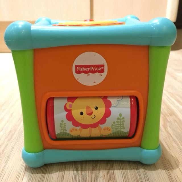 Fisher Price Growing Baby Animals Activity Cube