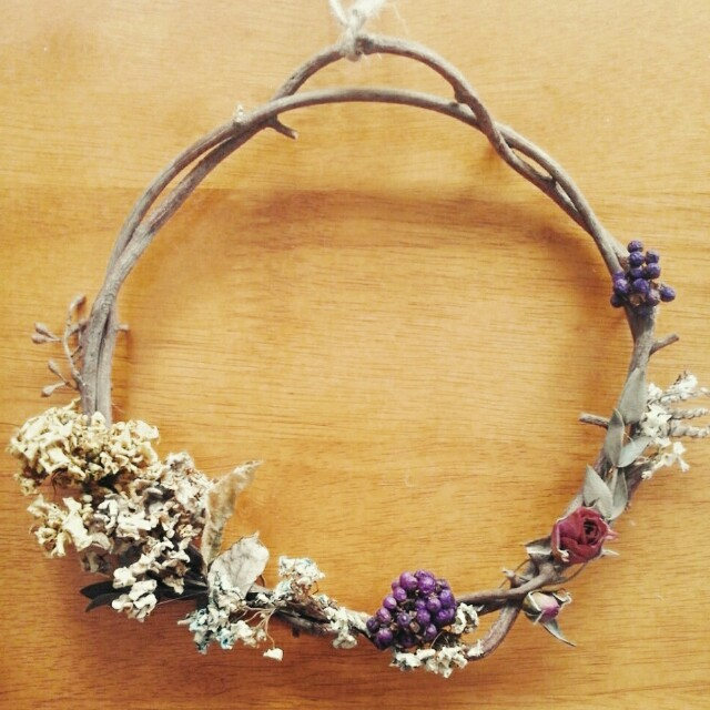 Floral Wreath small