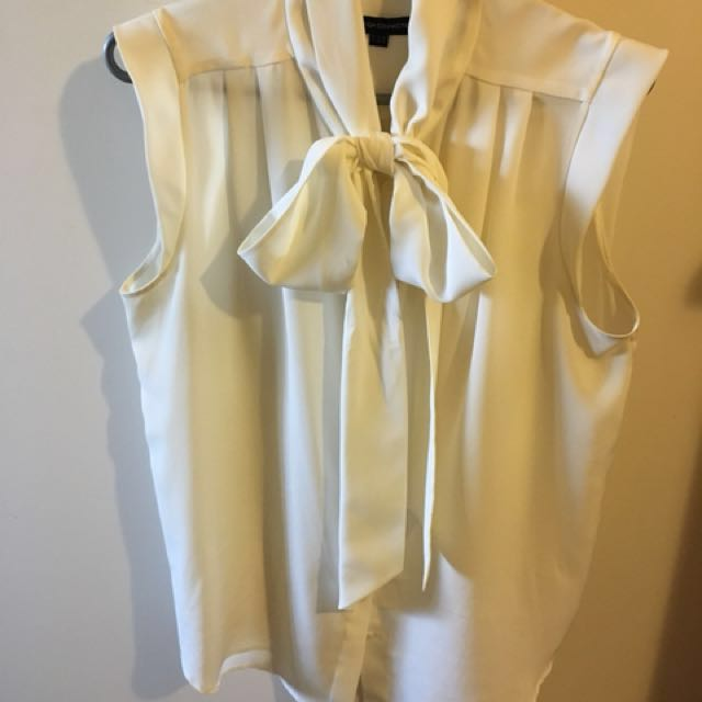 French Connection white blouse
