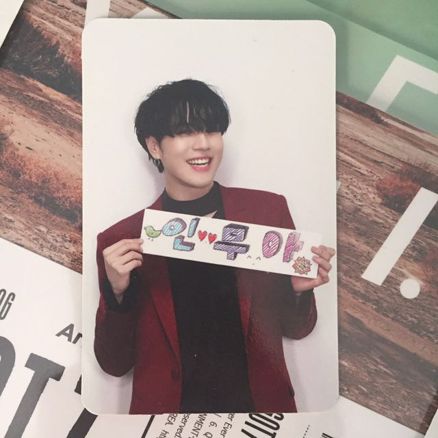 GOT7 Yugyeom Flight Log: Arrival Photocard Promise Ver.