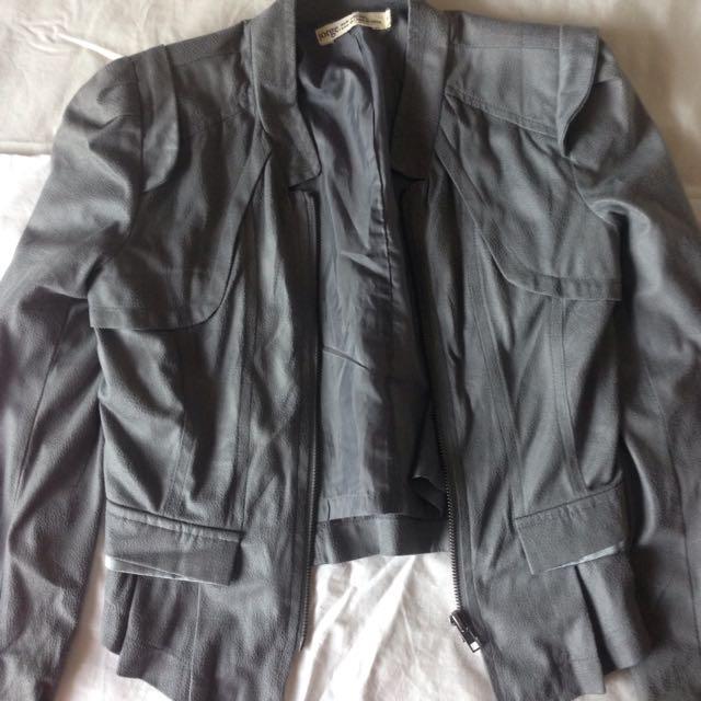 🌹grey Jacket