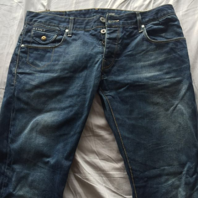 8c62a4e1 Gstar raw jeans (Price Reduced), Men's Fashion, Clothes on Carousell