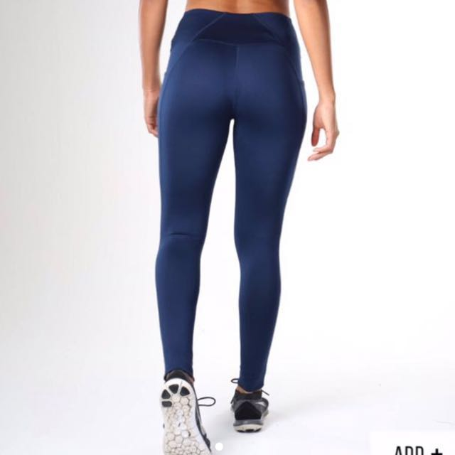 Gymshark Womens Sculpt Legging In Sapphire Blue