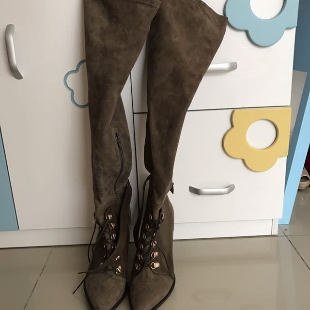 High knee boots h&m