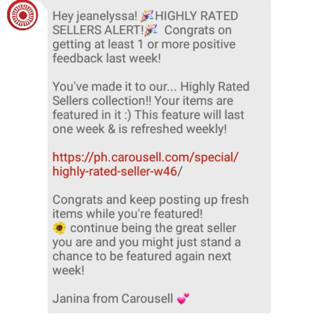 Highly Rated Seller ❤❤❤