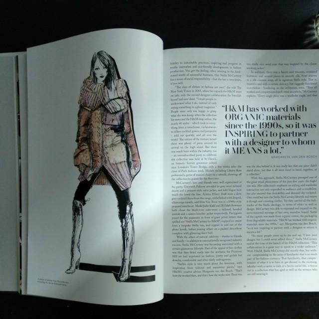 H&M x designer collaboration coffee table book