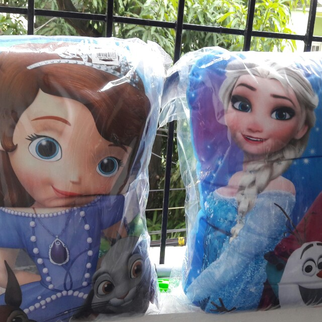 Huggable pillow for 2. Free shipping