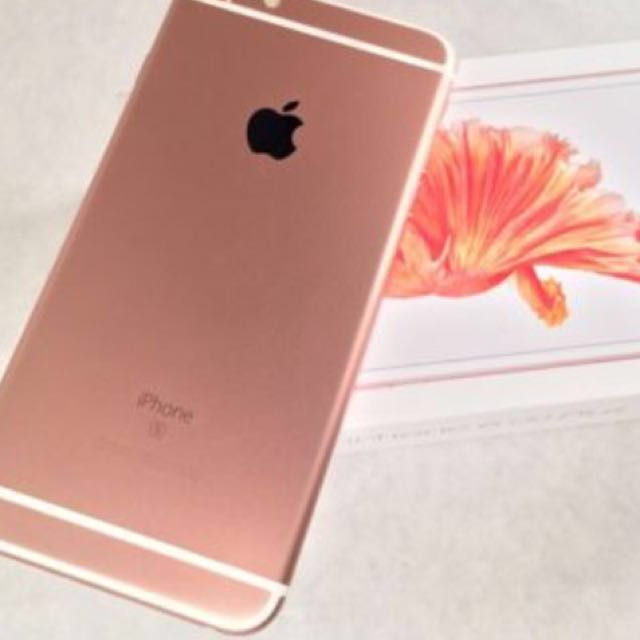 iPhone 6s 64 GB 2016/2 買的 有貼3D玻璃